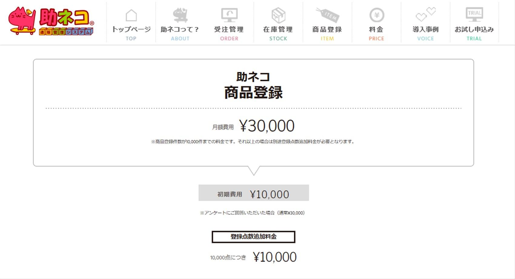 商品登録料金 (1)