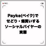 Payke(ペイク)でせどり・爆買いするソーシャルバイヤーの実態