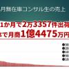 2020年3月の無在庫コンサル生売上結果【月商1億4475万6831円】