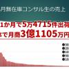 2020年8月の無在庫コンサル生売上結果【3億1105万9925円】